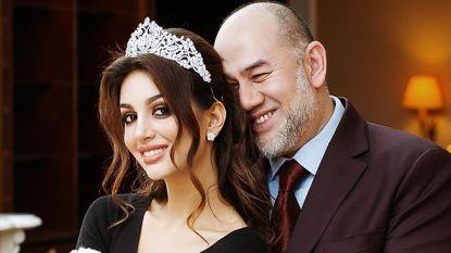 Nadat hij aftrad voor haar: sultan van Maleisië alweer gescheiden van zijn Russisch model