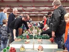 Modelspoorbouwers vestigen 'record' in Zutphen