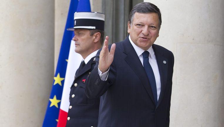 President José Manuel Barroso van de Europese Commissie. Beeld epa