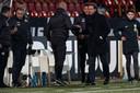 De technische staf van Jong PSV is na een bewogen week blij met een punt tegen Telstar.