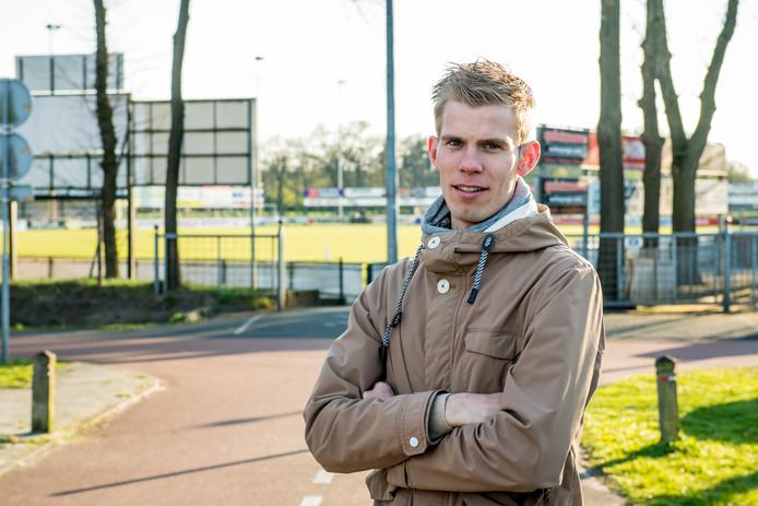 GEESTEREN - Joost Kock is sinds enkele maanden manager bij de omnivereniging Avanti in Glanerbrug. Nu wil Geesteren zelf ook een omnivereniging. Kock legt de voordelen uit. EDITIE: TUBBERGEN<br />FOTO: Lars Smook LS20170418