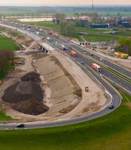 Gaat werk aan A1 bij Deventer sneller doordat er minder verkeer rijdt? Vergeet het maar...