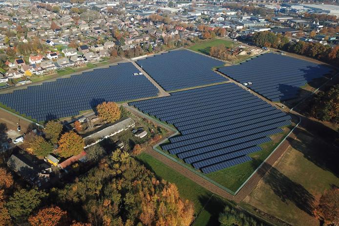 Deurne Zonnepark De Vlaas, een recent project van Energyport Peelland.