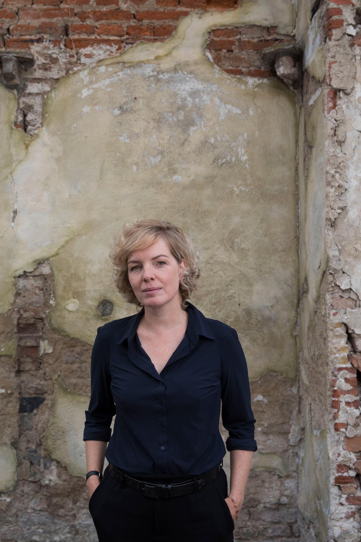 Nederland, Utrecht, 3 september 2018. Beatrice de Graaf, terreurdeskundige, hoogleraar. Foto: Werry Crone Beeld Hollandse Hoogte / Werry Crone