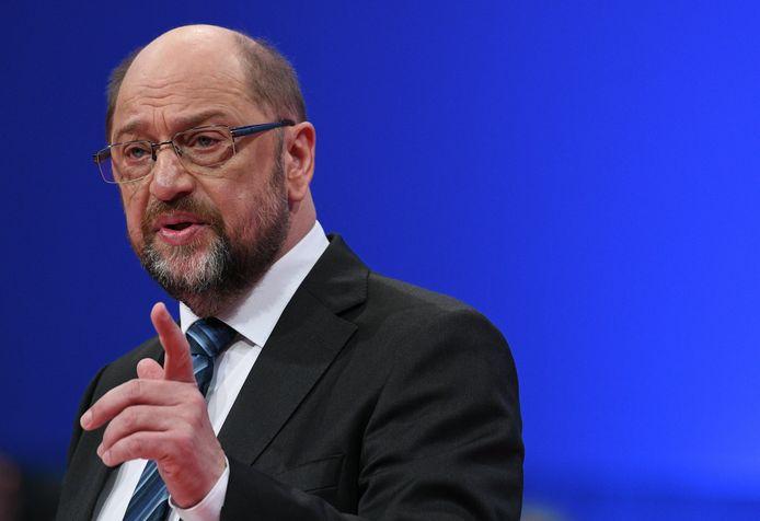 Schulz spreek in Bonn en pleit voor een nieuwe 'Kroko' (Grosse Koalition)