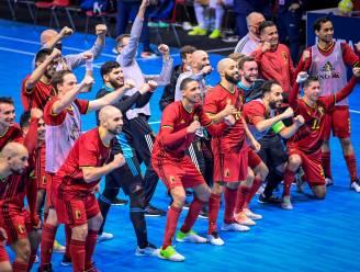 """De Futsal Red Devils pakken uit met stuntzege tegen Italië en blijven in de running voor het EK: """"Blij, maar we zijn er nog niet"""""""