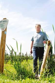Het honderdste klompenpad ligt in Alphen: 'Had een agrariër niet meegewerkt, dan was het niet gelukt'