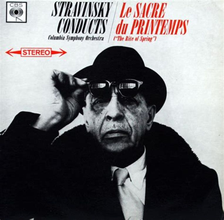 Le sacre du printemps van Igor Stravinsky. Beeld -