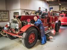 Brandweerfeestje rond een speciale 100-jarige