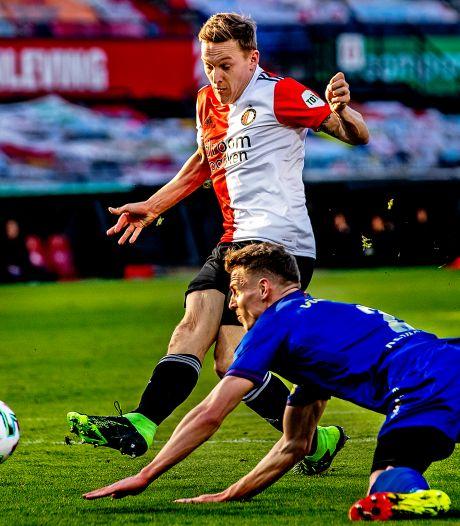 Toornstra weer de man bij Feyenoord, maar is er straks plek voor hem onder Slot?