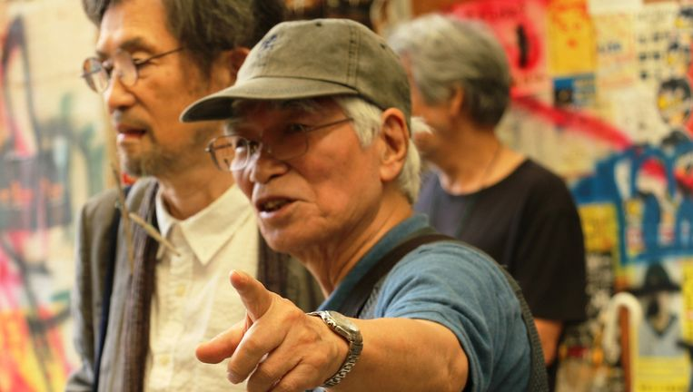 de Japanse filmmaker Adachi Masao (76), geldt behalve als innovatief en veelzijdig filmer als een opruier. Beeld