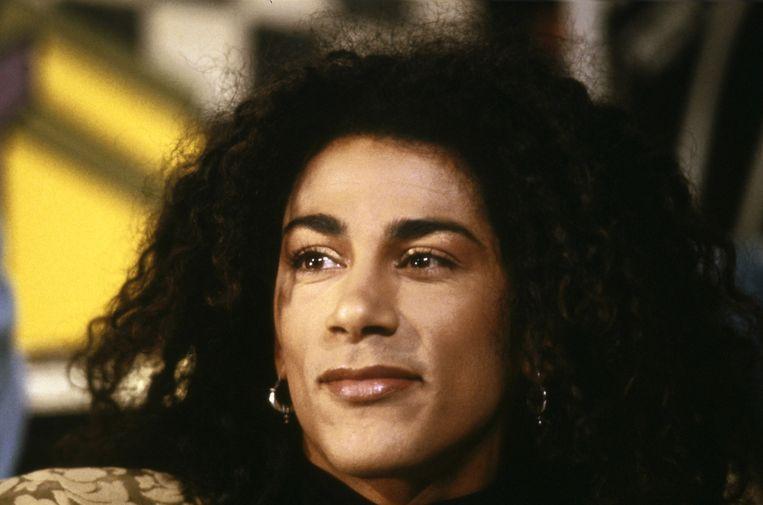 De Amsterdamse zanger Richenel had een Europese hit met het nummer Dance Around The World. Beeld ANP Kippa