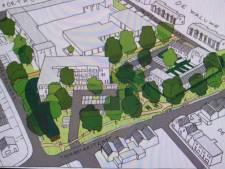 Eerste schets: huizen, studio's en appartementen op plek Akwamarijn