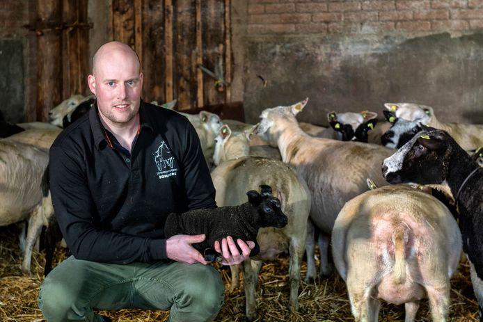 Schapenhouder Nicky Sommers: ,,Het vrije maar drukke leven, het buiten zijn en het werken met dieren spraken me erg aan.''