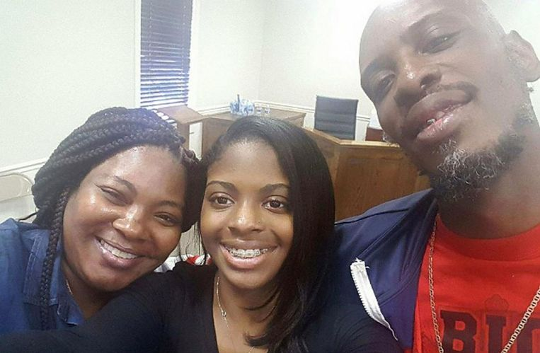 Shanara Mobley, Kamiyah Mobley en Craig Aiken.