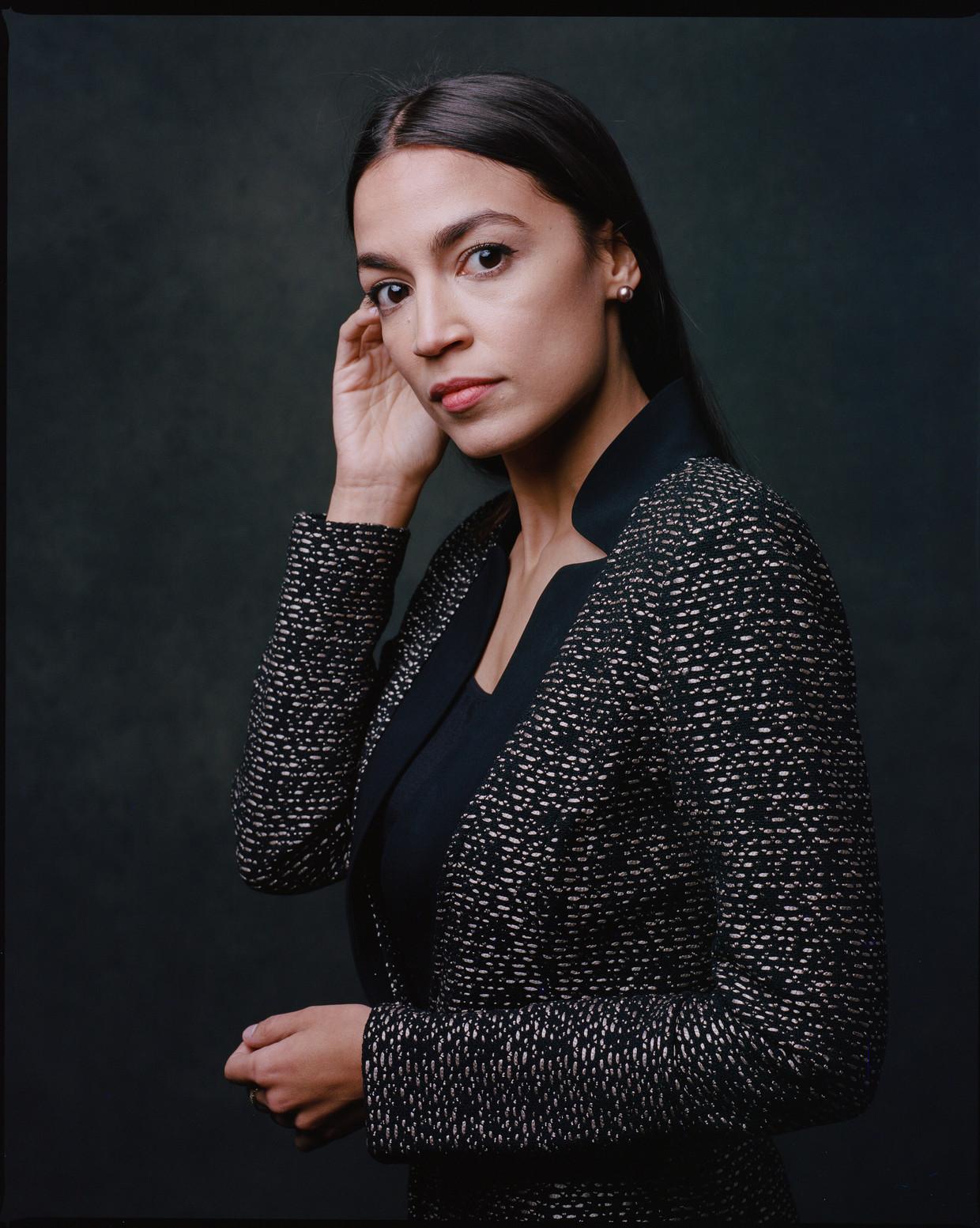 Alexandria Ocasio-Cortez is de hoop van progressief Amerika. Beeld Hollandse Hoogte
