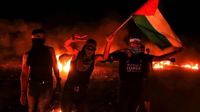 Israël bombardeert Gaza vanwege 'brandballonnen'