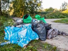 Grote schoonmaakactie van gemeente Moerdijk bij station Lage Zwaluwe, vier Albanezen aangehouden