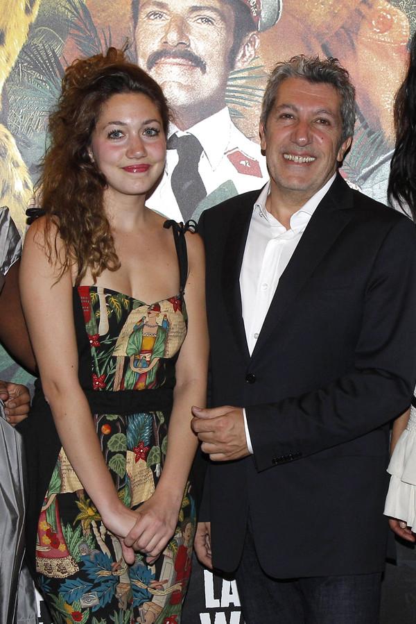 Louise et son père Alain Chabat.