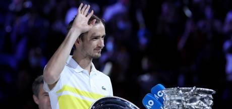 """Fin de l'hégémonie du """"Big Four"""", Medvedev va devenir numéro 2 mondial"""