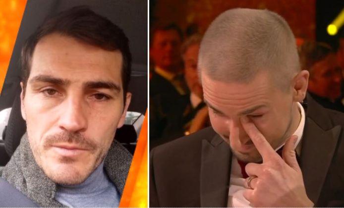 Iker Casillas et Miguel Van Damme.