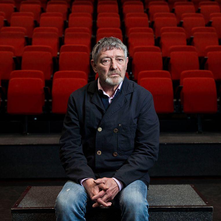 Pierre Bokma  in de Schouwburg Rotterdam. Beeld Arie Kievit