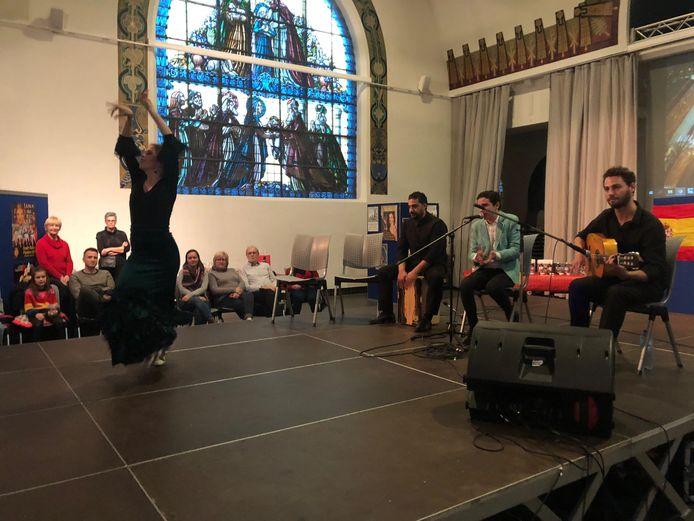 Zoersel werd getrakteerd op een echte Flamenco dansvoorstelling.