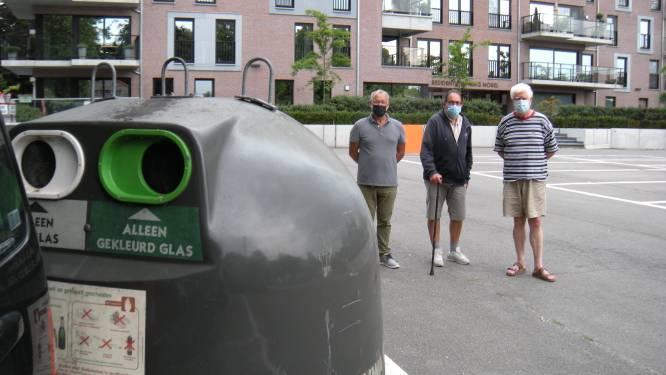 Bewoners willen ondergrondse glascontainer op Kokkelbeekplein