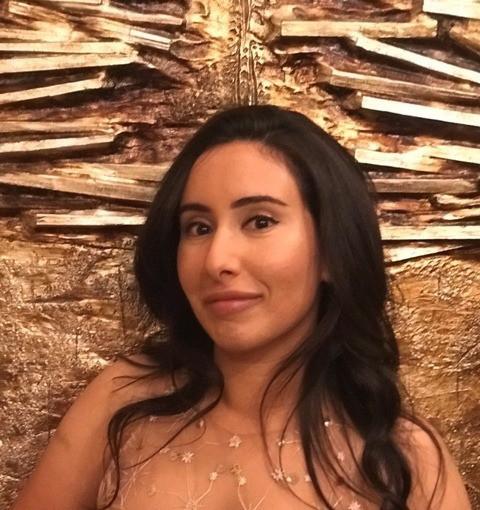 Prinses Latifa Al Maktoum.