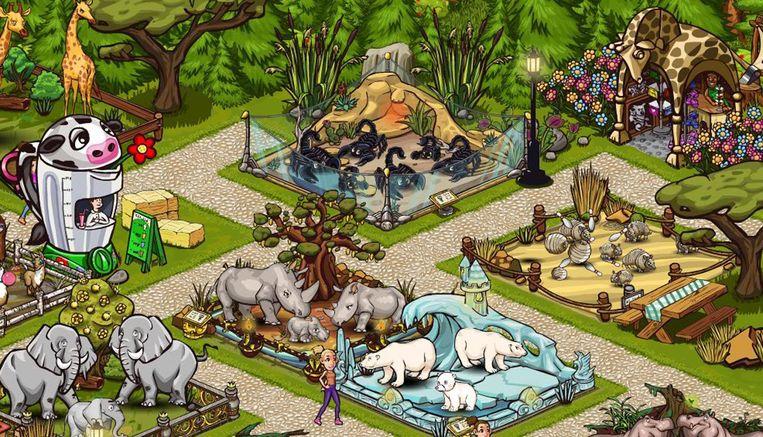 De game Zoomumba, onderdeel van Spil Games, dat vorig jaar door Azerion ingelijfd werd. Beeld Henk Brands