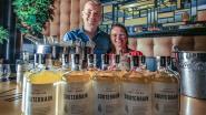 Nieuwe Zwevegemse gin Souterrain verwijst naar  oude scheepvaarttunnel