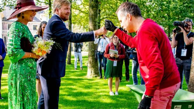 Koning en koningin een dagje ondergedompeld in trotse regio: 'Je ziet dat Salland echt leeft'
