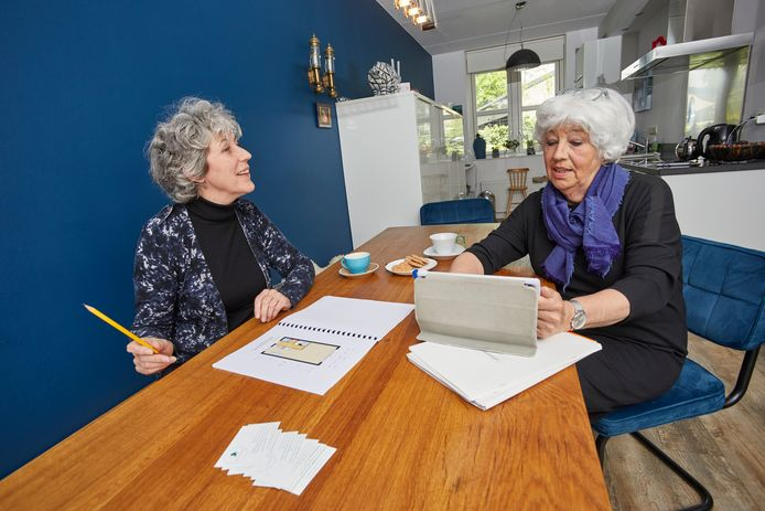 Gerda Liefveld en Maya Leijser zijn samen een adviesbureau in verhuizen begonnen.
