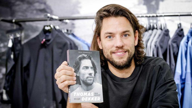 Oud-wielrenner Thomas Dekker presenteerde deze week zijn biografie Mijn Gevecht. Beeld ANP