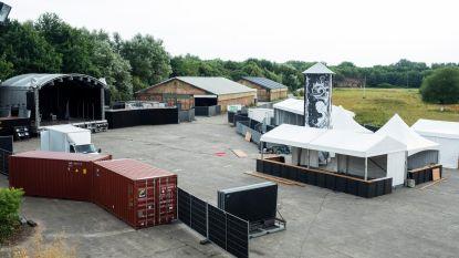Fort III wordt stilaan festivalterrein