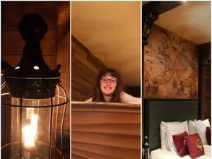 """GETEST. Wij gingen overnachten in de duurste kamer van het nieuwe Plopsahotel: """"Wegdromen in de Scheve Schuit van Piet Piraat. Daar hoort wat gekraak bij"""""""