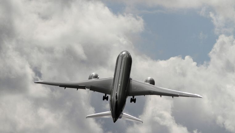 Een Boeing 787 Dreamliner van Qatar Airways. Beeld ap