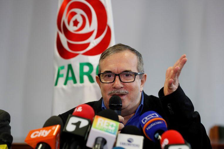 Rodrigo Londoño, de voormalige nummer één van de guerrilla-organisatie en huidig partijvoorzitter hoopt dat oud-rebellen niet