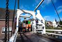 Onderzoek vorig jaar naar de bodem, vooruitlopend op de vervanging van de Vechtbrug in Breukelen.