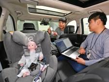Radar in de auto moet kinderen op hete dagen redden van verstikkingsdood