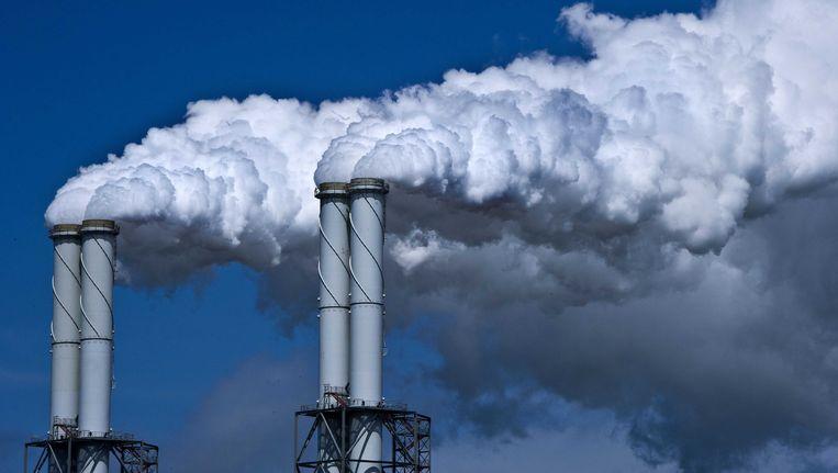 Energiecentrale op de Maasvlakte. Beeld ANP