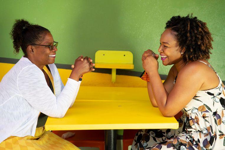 Cheryl Bedford en Jazmine Nichelle helpen vrouwen van kleur aan werk in de filmwereld van Los Angeles. Beeld Carlynn de Joya