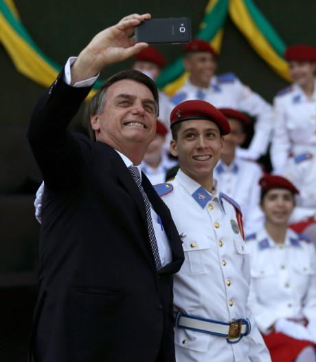 Bolsonaro stuurt leger naar Amazone om bosbranden te bestrijden