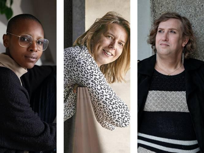 """Zo ervaren Uwi, Evi en Kathleen holebi- en transfobie: """"'Geysels is lesbi' stond er in het groot op de schoolmuren geschreven"""""""