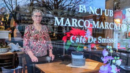 Noela tapt al 48 jaar pintjes in De Smisse in Aalbeke