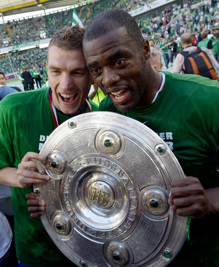 Grafite won jaren geleden nog de Bundesliga met Wolfsburg.