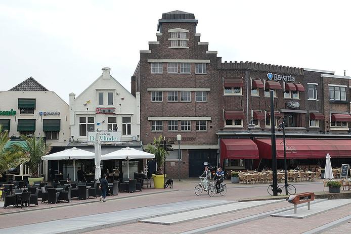 Het Havenplein in Helmond