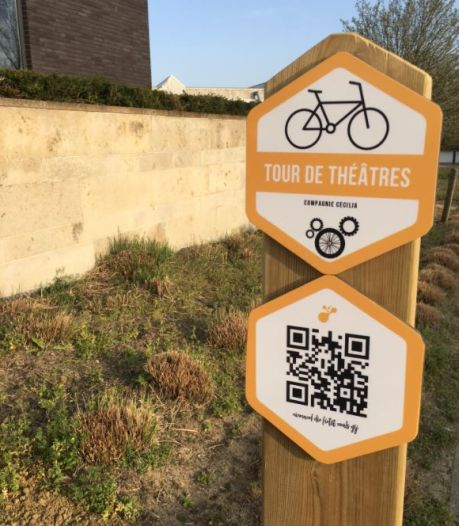 Compagnie Cecilia springt met publiek op de fiets in Tour de Théâtres