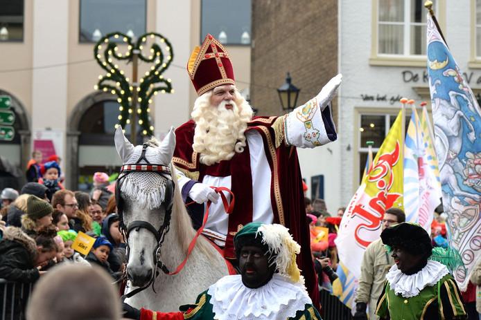 Intocht Sinterklaas in Bergen op Zoom vorig jaar.