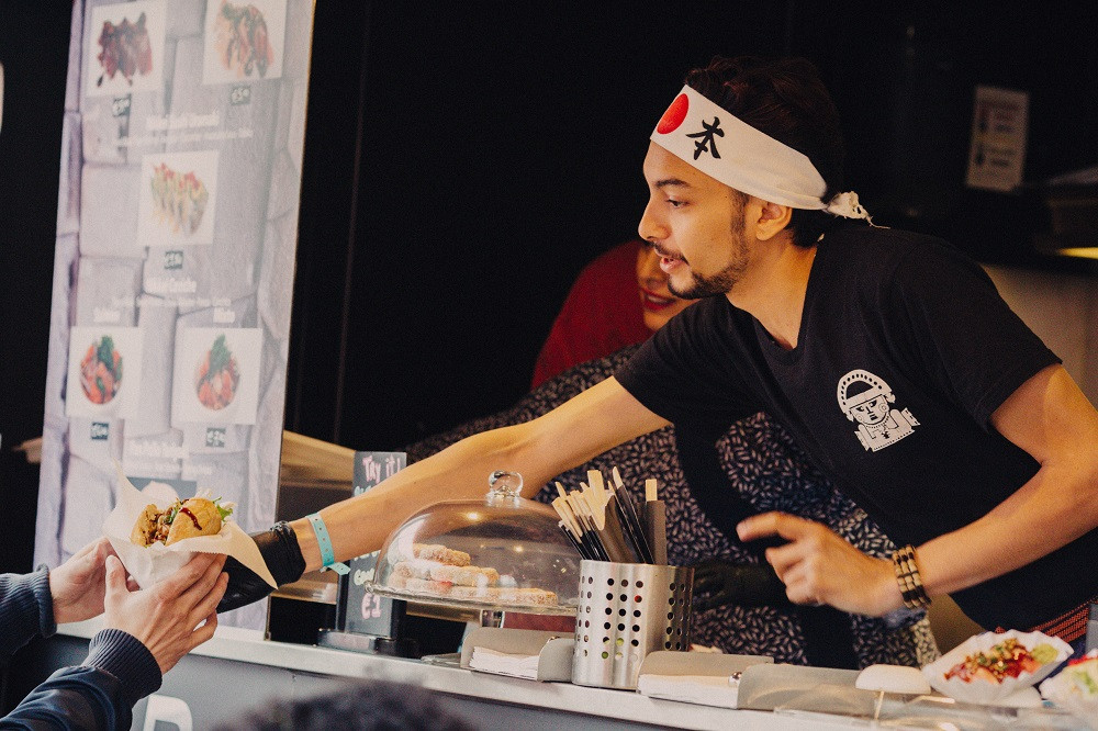 Sushifestival Joy in het Paleiskwartier